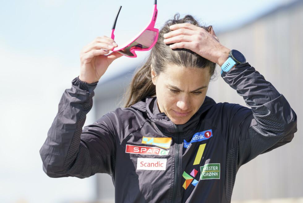 SKULLE SLUPPET MUNTLIG EKSAMEN: Heidi Weng ble innkalt til muntlig eksamen i idrettsetikk av NRK. Det kunne de spart seg for. Vi får svare først selv på slike vanskelige avveininger. FOTO: Torstein Bøe / NTB
