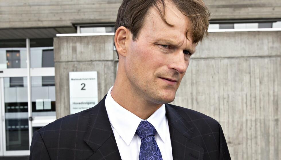 Gripos: Police Attorney Morton Stein.  Photo: Darbjorn Berg / Dog Platted