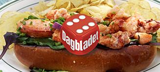 Oslos beste lobster roll