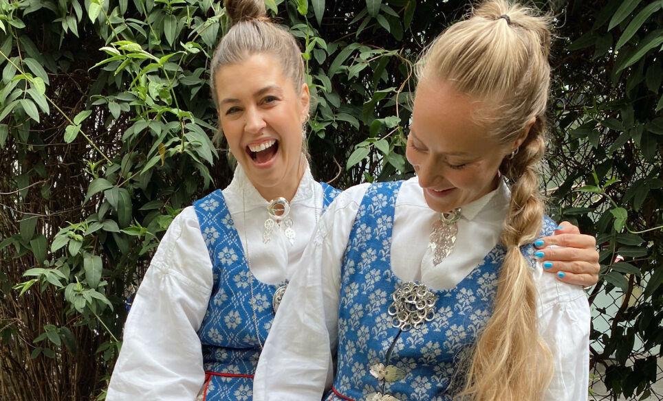 BRUDD: Therese Aanonli og Julie Aahlberg Øyan har valgt å være venner framfor kjærester. Foto: Privat