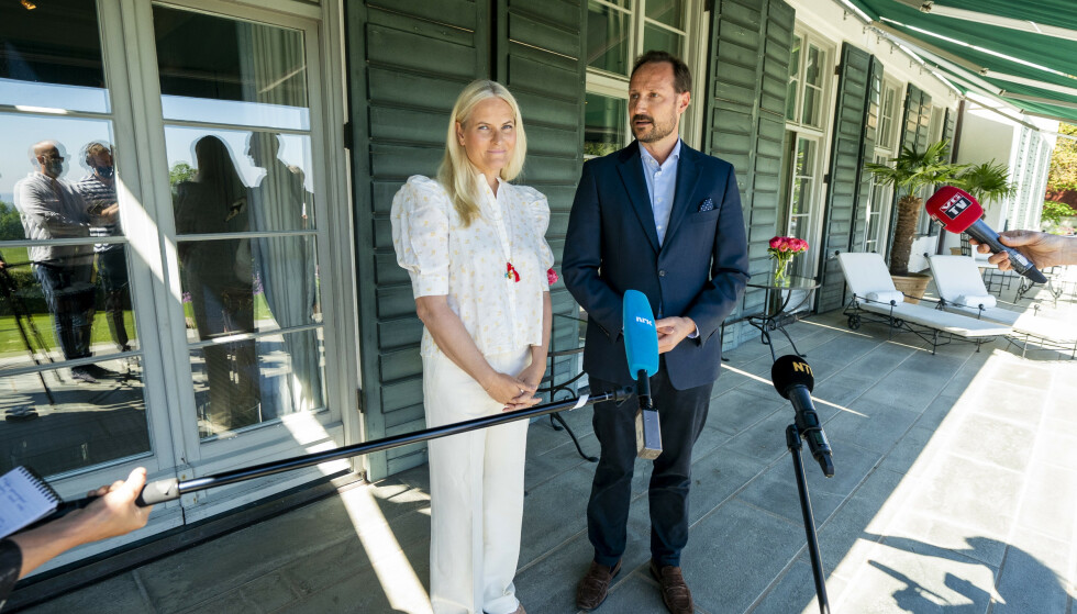 OPPGJØR: Kronprinsparet reagerer sterkt på hetsen. Foto: Terje Pedersen / NTB