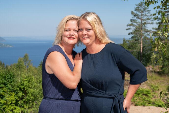 - HÅPLØST: Trude og Trine Rishaug Lium mener at deltakerne ikke konkurrerte på like vilkår. Foto: Espen Solli / TV 2