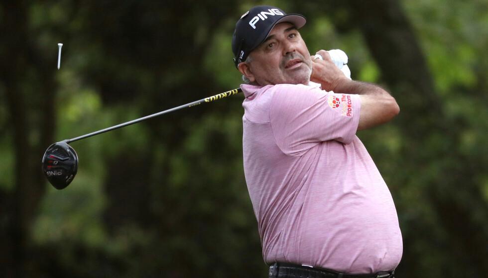 I AKSJON: Cabrera under Masters i Augusta i 2019. Foto Reuters