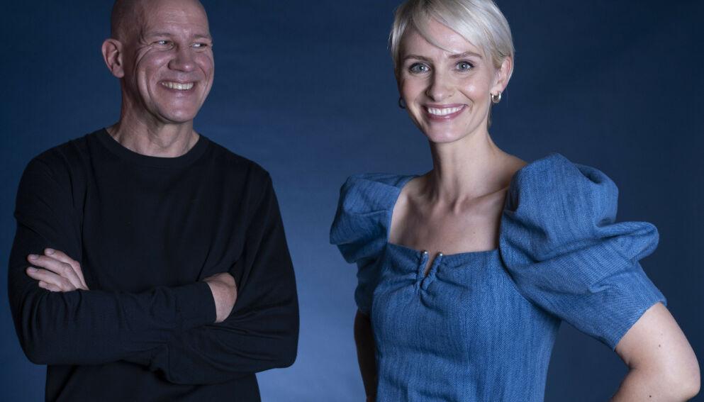 PROGRAMLEDERE: Henrik Elvestad (t.v.) og Anne Rimmen vil figurere på skjermen under Discoverys OL-sendinger i forbindelse med OL i Tokyo denne sommeren. Foto: Erik Johansen / NTB