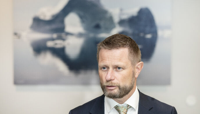 HELSEMINISTER: Bent Høie. Foto: Hans Arne Vedlog / Dagbladet