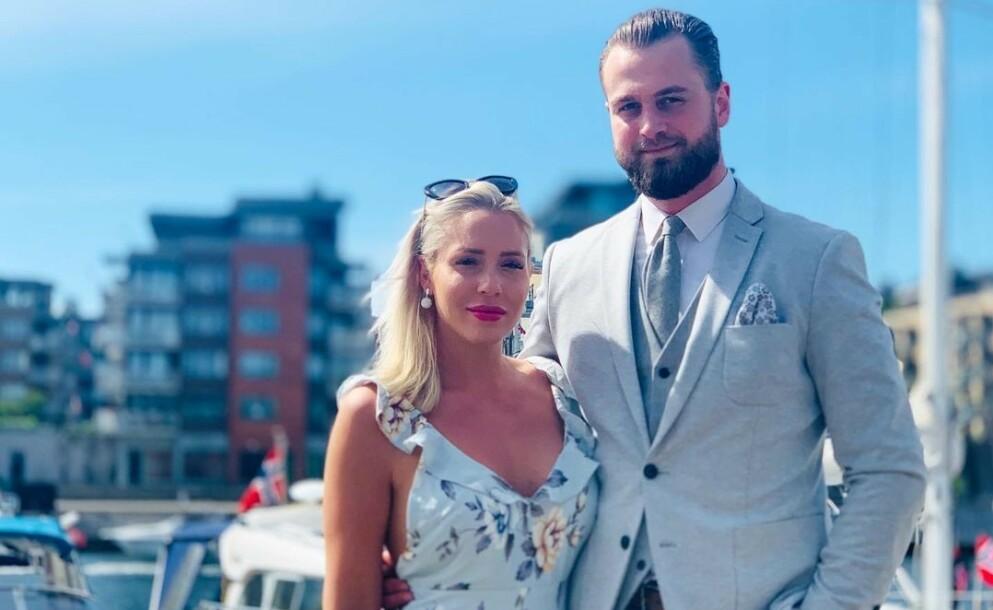 SLUTT: Realityprofil Aurora Gude og samboeren Haakon Johan Lønner har gjort det slutt. Foto: Privat
