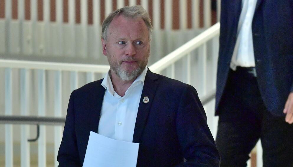 BEKYMRET: Deloitte var bekymret for spørsmål fra media til Raymond Johansen knyttet til selskapets habilitet i evalueringen av coronahåndteringen i Oslo. Da ble de formelt erklært habile. Foto: Lars Eivind Bones / Dagbladet