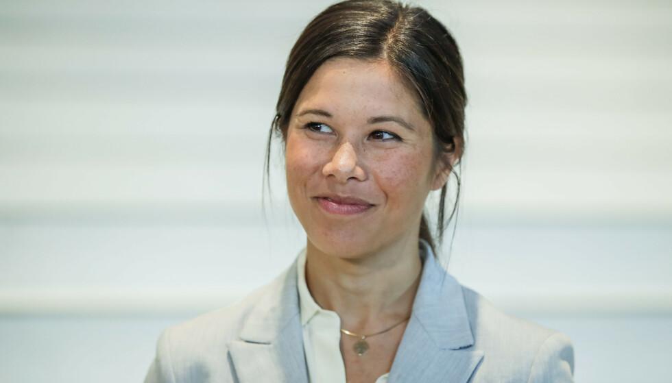 FÅR STØTTE: Flere MDG-kollegaer har den siste tida tatt samferdselsbyråd Lan Marie Berg i forsvar. De mener kritikken har sammenheng med at hun er en suksessrik kvinne. Det reagerer opposisjonen på. Foto: Vidar Ruud / NTB