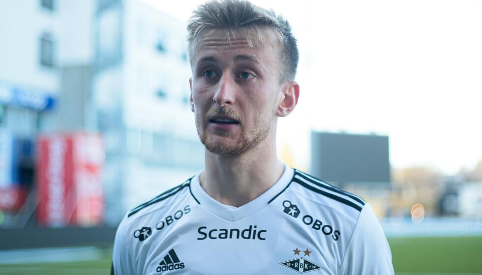 ØNSKER ÅPENHET: Rosenborgs Erlend Dahl Reitan holder fotballsatsingen i sjakk ved bruk av mental trener. Foto: Mats Torbergsen / NTB
