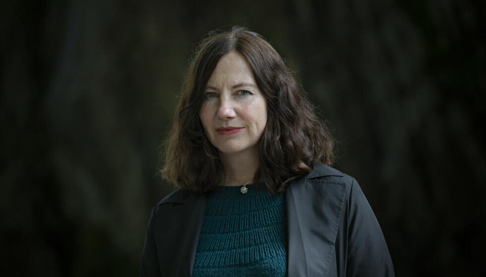 HILDE KVALVAAG: Forfatterens nye roman handler om selvmordet til hennes unge sønn.Foto: Jørn H.Moen / Dagbladet