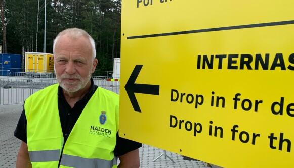SKAL TESTE: Jostein Stø, leder for teststasjon på Svinesund. Foto: Øystein Andersen