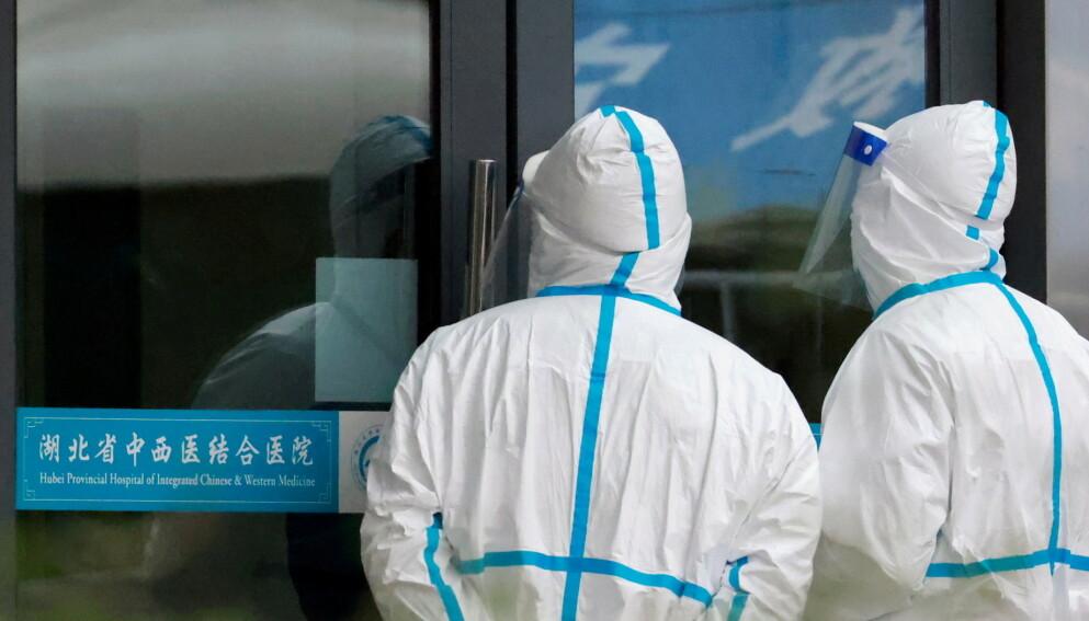 WUHAN: Wuhan er storbyen hvor de første coronatilfellene ble registrert i desember 2019. Foto: Thomas Peter / Reuters / NTB