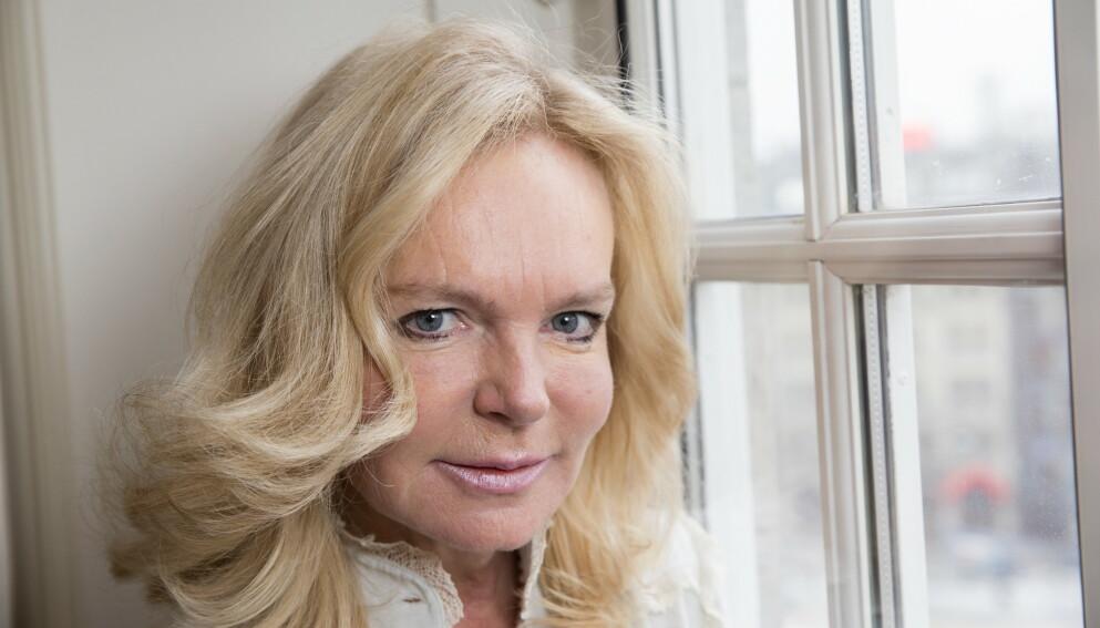 DØD: Bestselgerforfatter Lucinda Riley er død, 55 år gammel. Her er hun i 2017. Foto: Terje Bendiksby / NTB