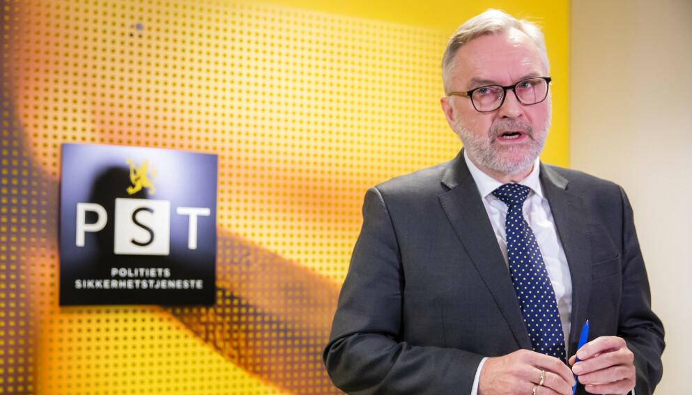 PST: Hans Sverre Sjøvold er PSTs sjef. Foto: Håkon Mosvold Larsen / NTB