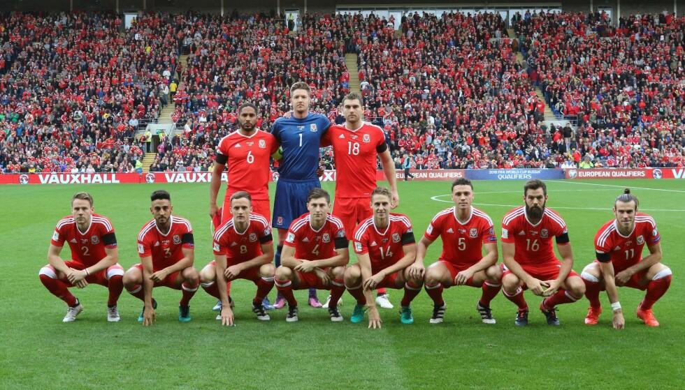 ET AV FLERE: Slik så det ut da waliserne skulle spille kvalifiseringskamp i 2016. Foto: Huw Evans/REX.