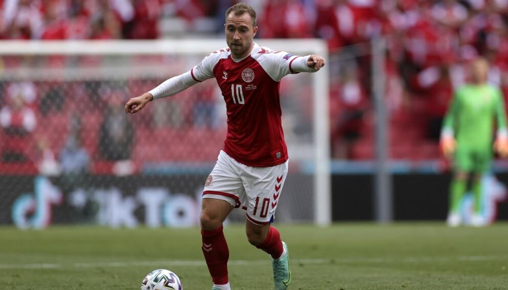 GLADMELDING: Christian Eriksen skal ha det fint. Foto: AP.