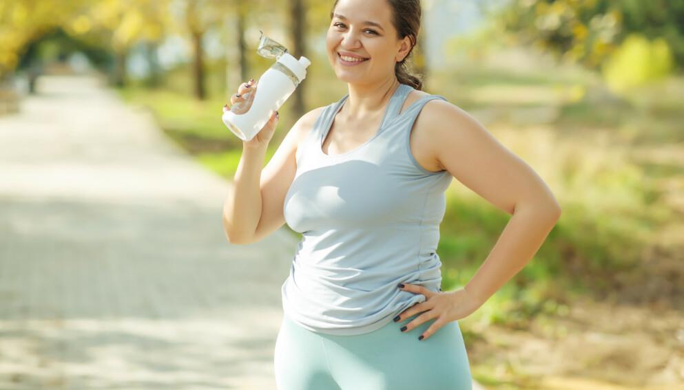 FELLESFERIE: Mange har et ønske om å gå ned i vekt før sommeren. Her er ekspertenes beste tips. Illustrasjonsfoto: Shutterstock