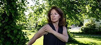 Frozen shoulder: - Som et knivstikk