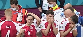 - UEFA presset spillerne