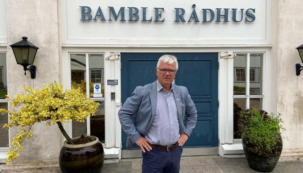 PREGET: Ordfører i Bamble, Hallgeir Kjeldal, tar dødsbudskapet etter ulykka i Bamble tungt. Foto: Privat