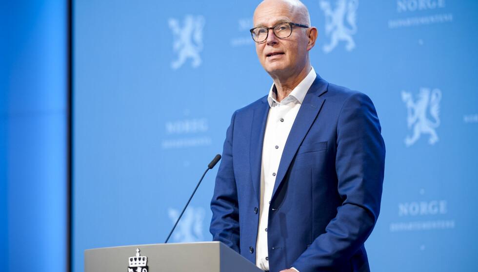 HELSEDIREKTØR: Bjørn Guldvog ved Helsedirektoratet. Foto: Fredrik Hagen / NTB