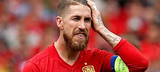 Tabbe å svikte Ramos!