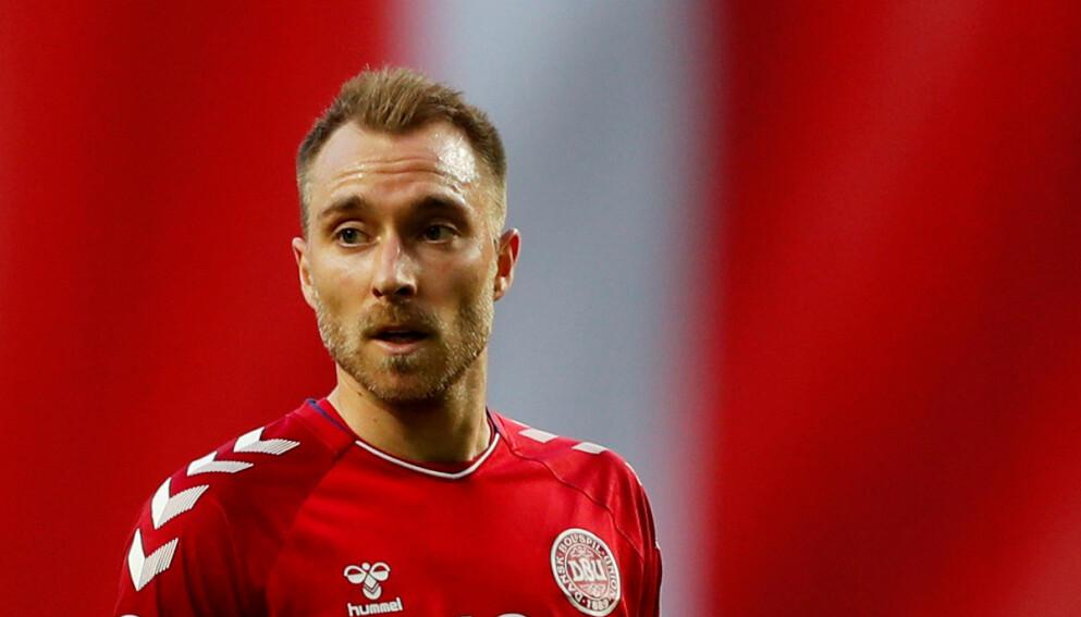 STJERNE: Christian Eriksen er en av Danmarks aller største stjerner. Foto: Reuters/Lee Smith