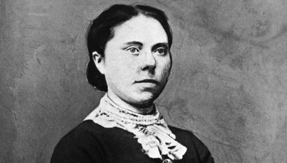 BELLE GUNNESS: På slutten av 1800-tallet emigrerte norske Brynhild til USA og ble til Belle Gunness, senere beryktet som en av landets verste seriemordere. Foto: NTB / AP