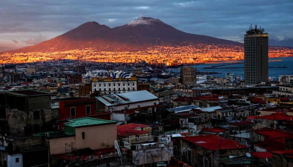 VERDENS FARLIGSTE: Vulkanen Vesuv som ligger i Italia blir i dag sett på som en av verdens farligste. Foto: Shutterstock