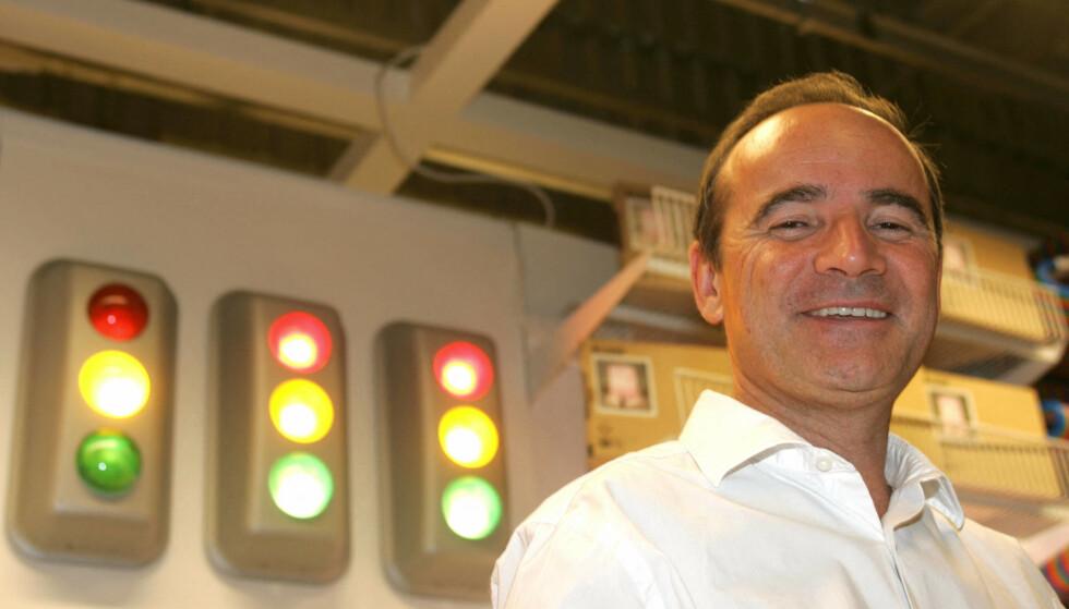 DØMT: Tidligere administrerende direktør, Jean-Louis Baillot er dømt til to års fengsel etter spionasjeanklagene. Foto: Dominique Faget / AFP