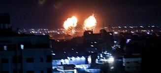 Nye luftangrep mot Gaza
