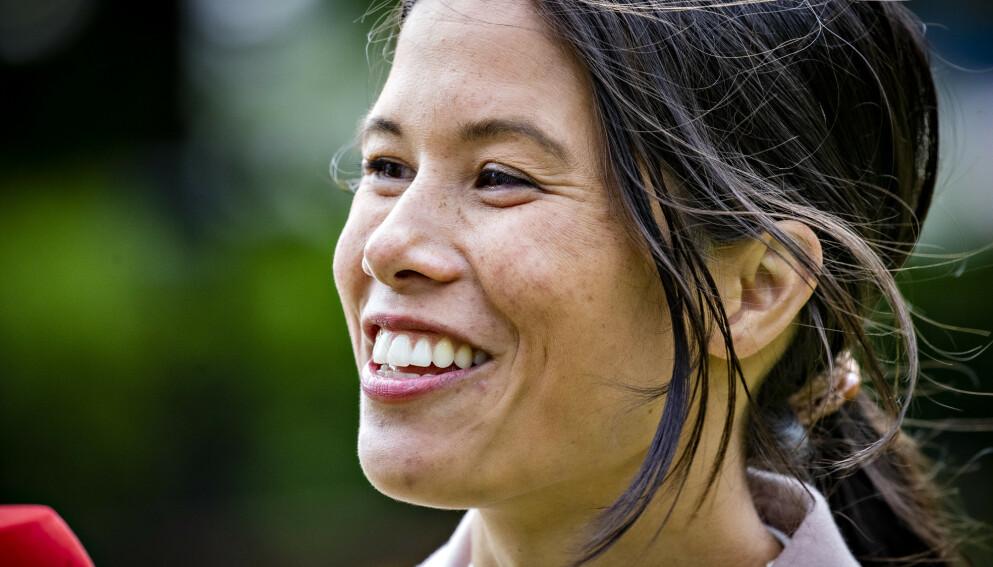 BLIR RIKSPOLITIKER: Lan Marie Berg (MDG) er ferdig i Oslo-politikken for denne gang. Til høsten har hun MDGs eneste sikre stortingsplass og vil bli rikspolitiker. Foto: Bjørn Langsem / Dagbladet