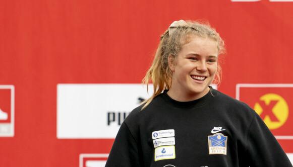 KJEMPETALENT: Henriette Jæger har allerede vunnet flere NM-gull til tross for sin unge alder. Foto: Fredrik Hagen / NTB