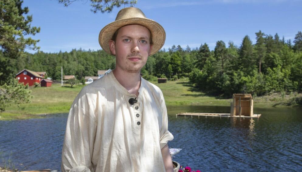 NØKTERN: Öde Nerdrum er ærlig om hva han synes om kjendistilværelsen. Foto: TV 2
