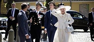 Dronningas kjoleblemme: - Maks uheldig