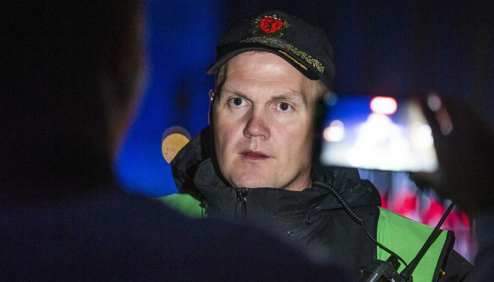 INNSATSLEDER: Tor Einar Bakken i Sørøst politidistrikt. Foto: Trond Reidar Teigen / NTB