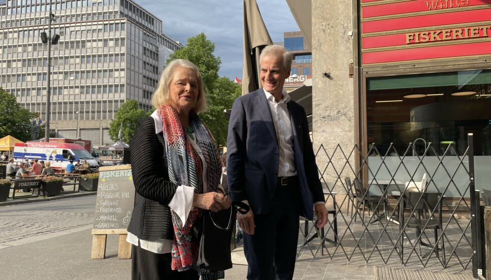 GRO FIKK KOMME: Men Trond måtte være hjemme. Foto: Jørgen Gilbrant / Dagbladet