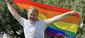 Har delt ut 400 pride-flagg