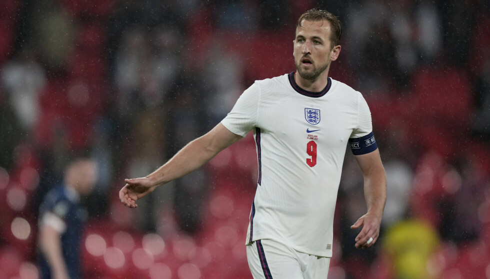 USYNLIG: Harry Kane og England fikk det ikke til å klaffe i naboduellen mot Skottland. Foto: Reuters