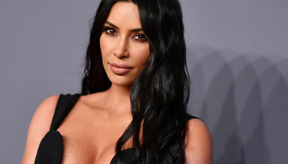 STJERNE: Kim Kardashian avbildet i 2019. Foto: ANGELA WEISS / AFP / NTB