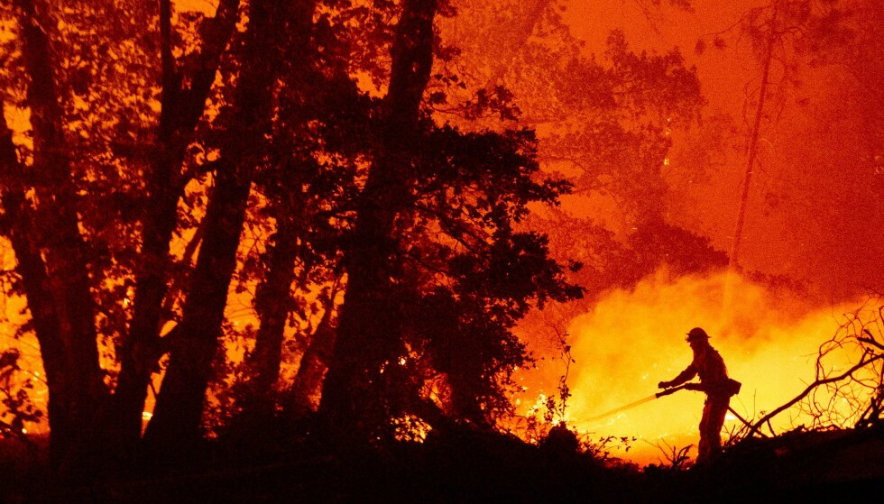 Burns: Wildfires caused by the force of violence and catastrophic effects in the United States in 2020: This film comes from Madeira County, California.  Photo: AFP / NTB.