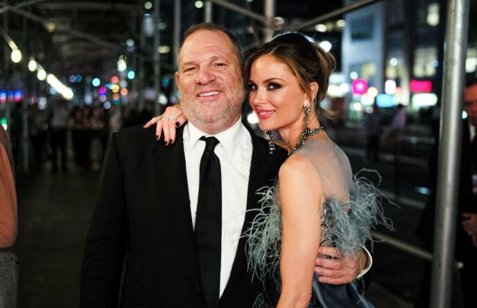 SKILT ETTER SKANDALEN: Harvey Weinstein og Georgina Chapman er historie etter MeToo-avsløringene. Foto: David X Prutting/REX/NTB
