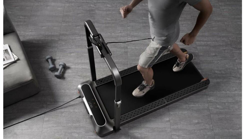 I slutten av juni kom det tre nye WalkingPad-modeller. Den avbildede versjonen heter R2.