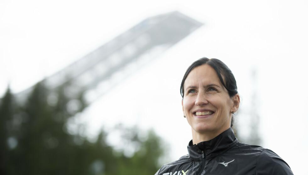 SAMARBEID: Marit Bjørgen skal hjelpe folk til å nå målene sine i Birkebeinerrennet. Foto: Berit Roald / NTB