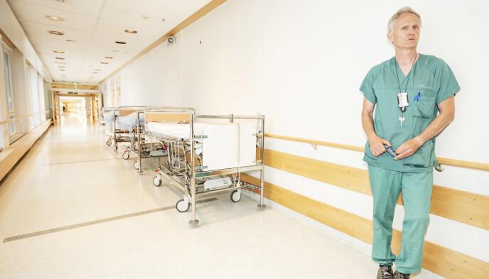 HAR TROA: Donoransvarlig lege Dag Wendelbo Sørensen ved Ullevål sykehus har troa på at cDCD vil bli innført i Norge. Foto: Hans Arne Vedlog / Dagbladet