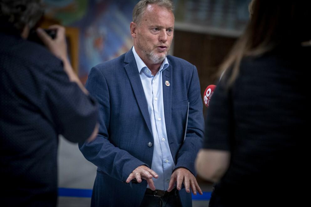 ERSTATTER SEG SELV: Raymond Johansen (Ap) har trukket seg som byrådsleder, men snart er han trolig tilbake i samme posisjon. FOTO: Bjørn Langsem / Dagbladet