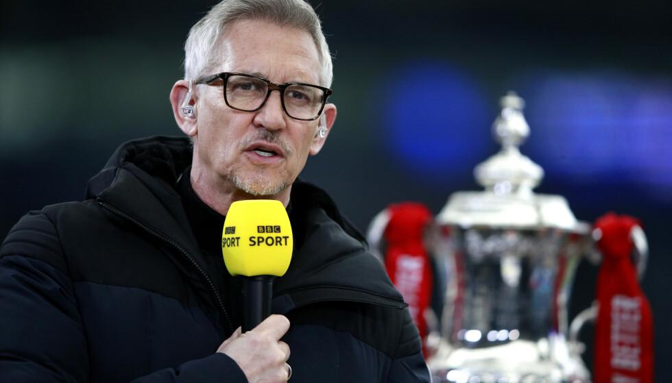 RASER: Gary Lineker synes lite om UEFAs avgjørelse om å nekte bruken av regnbuefargene på Allianz Arena. Foto: Pa Photos
