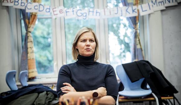 KUNNSKAPSMINISTER: Kunnskaps- og integreringsminister Guri Melby (V). Foto: Christian Roth Christensen / Dagbladet
