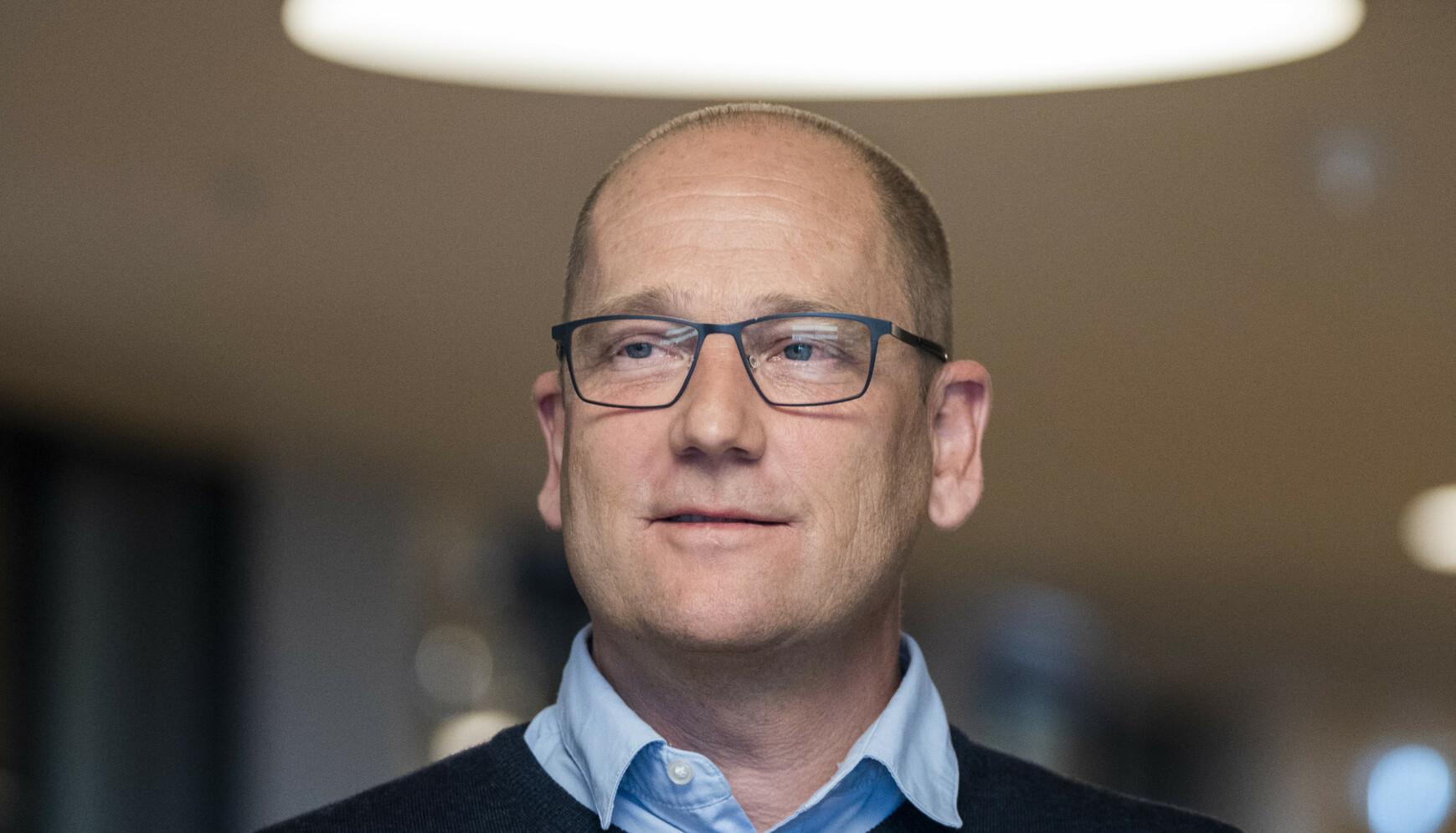 PÅ OVERTID: Leder i Utdanningsforbundet, Steffen Handal, mener at regjeringens beslutning kommer på overtid. Foto: Terje Pedersen / NTB