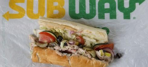 Fant ikke tunfisk i tunfisk-sandwich